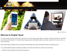 Tablet Preview of knightsquest.org